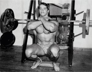 Arnold-Front-Squat