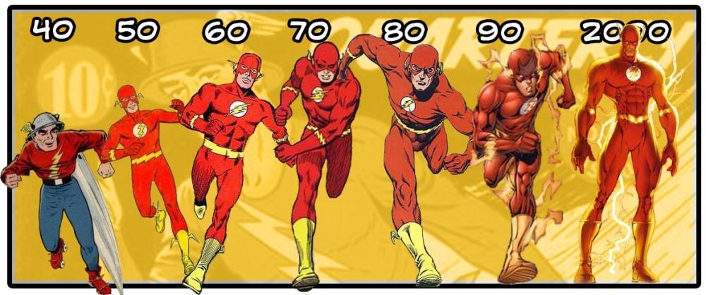 evolución flash