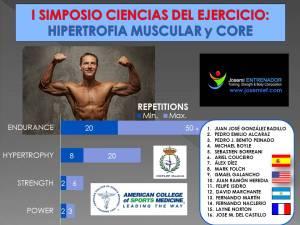 I SIMPOSIO CIENCIAS DEL EJERCICIO Banderas-ACSM-COPLEF-2